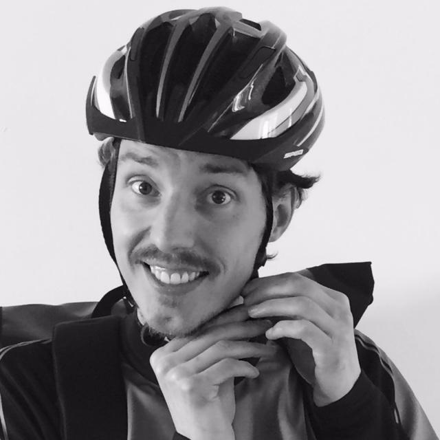portretfoto fietskoerier niels verbunt