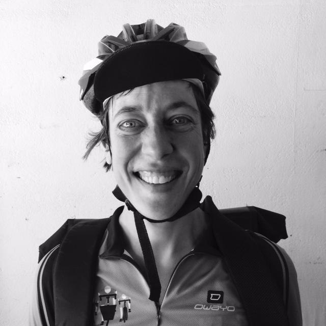 portretfoto fietskoerier lisette torbijn