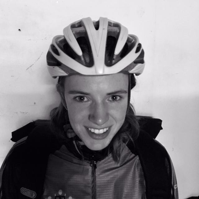 portretfoto fietskoerier britt landman